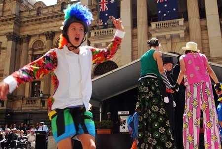Australian dayparade